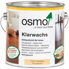 Масло с воском для твердых пород OSMO Klarwachs (0.75л) (оттенок 1101)