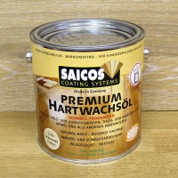 Масло с твердым воском SAICOS Hartwachsol Premium (0.75л)