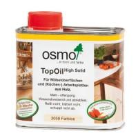 Масло с твердым воском для мебели и столешниц OSMO TopOil (0.5л) (оттенки 3058, 3061, 3068, 3028)